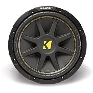 Amazon.com: Kicker 10C104 Comp 10-Inch Subwoofer 4 Ohm
