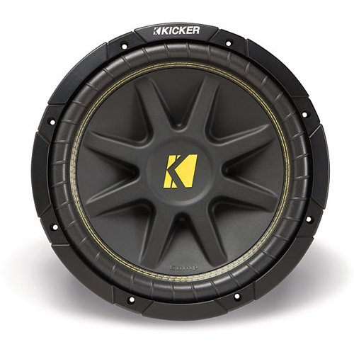Kicker 10C104 Comp 10-Inch Subwoofer 4 Ohm (Black)