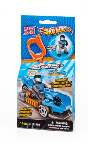 Mega Bloks Hot Wheels Konstruktion Rennwagen