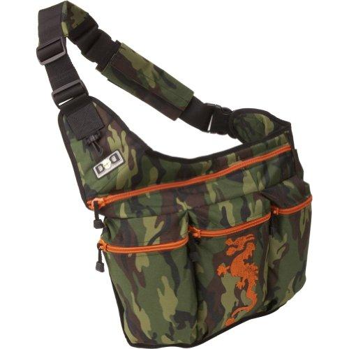 Camouflage Dragon Diaper Bag