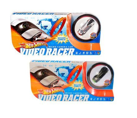 Hot Wheels Micro Camera Car Video Racer, Set of Two [Toy]