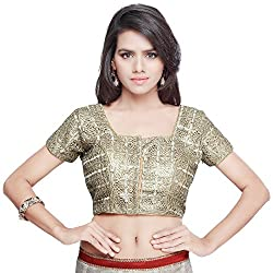 Readymade Golden Cut Work Blouse/Choli From Vimlon