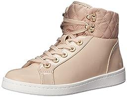 Aldo Women\'s Elza Fashion Sneaker, Nude, 7.5 B US