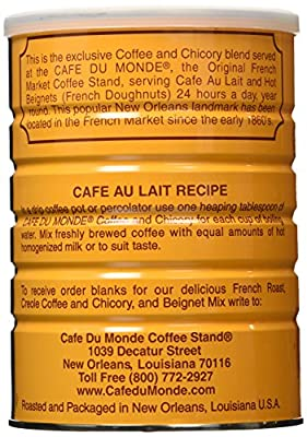 Cafe Du Monde Coffee Chicory, 15-Ounce (Pack of 3) by Cafe Du Monde