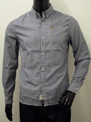 Cavalcade Striped Shirt Blue M Blue
