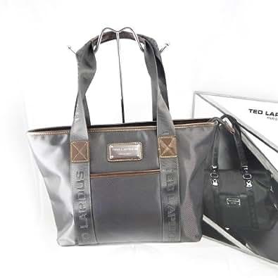 Amazon.com: Shopping bag 'Ted Lapidus' gray.: Shoes