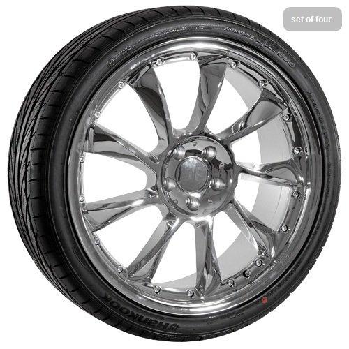 20 Chrome Lorinser Replica Wheels Rims & TIres