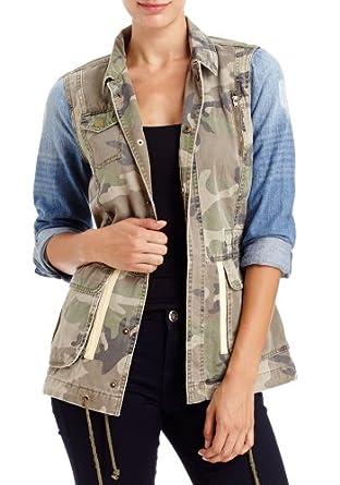 2B Camo &Denim Anorak Jacket 2b Outerwear Camouflage-xl
