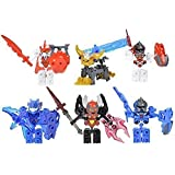 Tenkai Knights Toys Value Pack Includes 6 Figures