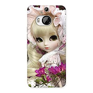 Impressive Angel Look Doll Back Case Cover for HTC One M9 Plus