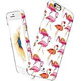 iPhone 6 6s ケース, Aknaオブセッション・ヒンタジ(復古)シリーズ 超薄い 3D立体花パターン保護ケース iPhone6 & iPhone6s 適用 [Flamigo](J.P)
