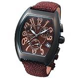 LANCASTER (ランカスター) 腕時計 INTRIGO GALUCHAT 0204B BRBR ブラック メンズ