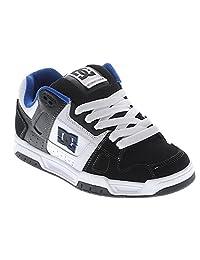 DC Shoes Men's Stag 2 Shoes Black White Royal Blue
