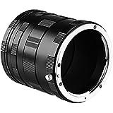 Mcoplus Metal Macro Extension Tube Set for Nikon D60 D80 D90 D3000 D3100 D3200 D3100 D5100 D5200 D5300 Extreme Close-Ups Digital SLR Cameras