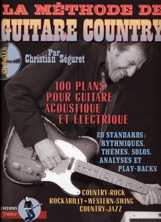 Méthode de Guitare Country (+ 1 CD) - Rebillard