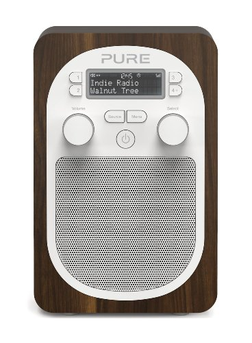 Pure Evoke D2 Portable DAB/FM Radio - Walnut Black Friday & Cyber Monday 2014