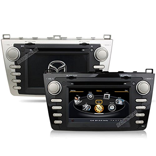 A8 S100 Hd Car Dvd Gps Navi Headunit Autoradio For New Mazda 6 2008-2011,Dual-Core 3 Zone Pop Wifi 20 Disc Cdc In Dash Navigation System, Navigator, Built In Bluetooth A2Dp, Sd Aux Usb Input Radio (Am/ Fm) With Rds, 3G, Phone Book, Ipod Controls, Analog T