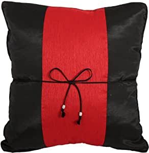 Black Throw Pillows For Bed : Amazon.com: ARTIWA? Black & Red 16