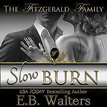 Slow Burn Audiobook by E. B. Walters Narrated by Nina Naughton