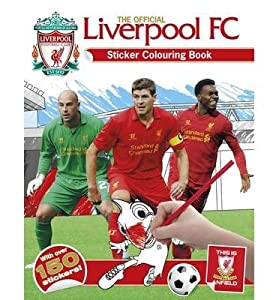 [(The Official Liverpool FC Sticker Colouring Book)] [ By (author) Emily Stead ] [April, 2014] from Carlton Books Ltd