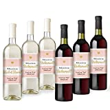 Will You Be My? | Bridesmaid and Maid of Honor Wine Bottle Labels | Asking Bridesmaids | Bridesmaid Proposal | Bridal Party Favors, Ideas, and Gifts