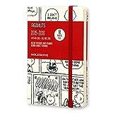 モレスキン 2015年-2016年版18ヶ月手帳 限定版PEANUTS ウィークリー ダイアリー ポケット ホワイト 白 ハードカバー DPE18WN2Y16