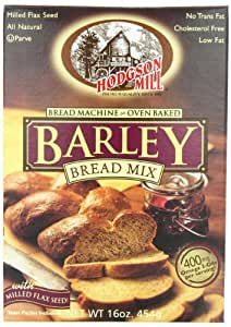 Amazon.com : Hodgson Mill Barley Bread Mix, 16-Ounce Units