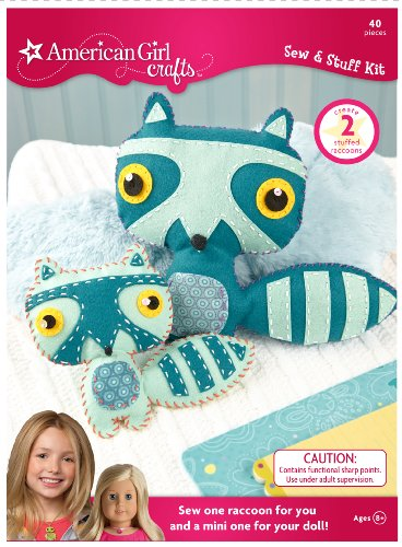 American Girl Crafts Sew Stuff Kit, Raccoon (American Doll Sewing Kit compare prices)