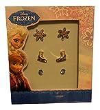 Disney Frozen Snowflake Ice Set of 3 Earring Set