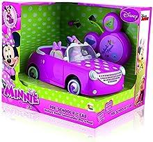 Comprar Disney - Coche con radiocontrol con diseño Minnie, 25 x 22 x 20 cm (IMC Toys 181199)