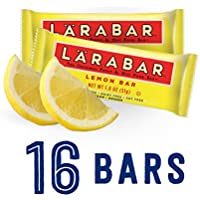 Larabar Gluten Free Bar 1.8 oz Bars 16 Count (Lemon Bar)