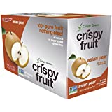 Crispy Green 100% Freeze-Dried Fruits, Asian Pear, 0.36 Ounce, 12 Count