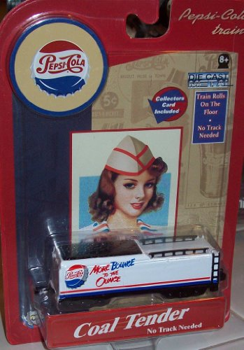 Pepsi Cola Trains COAL TENDER Die Cast Metal - 1