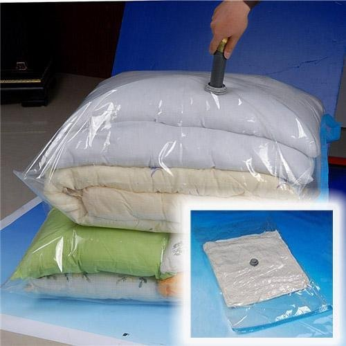 130Cm X 90Cm Space Saver Bedding Clothes Storage Travel Bag Vacuum Air Seal Compressed front-4117