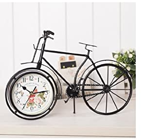 自転車の 自転車 保証書 : Bicycle Desk Clock
