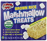 Glenny's Brown Rice Marshmallow Treats, Vanilla, 5-.85oz  Boxes (Pack of 6)