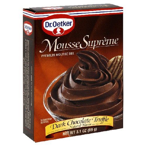 Buy Oetker Mousse, Dark Chocolate, 3.1 Ounces (Pack of 12) (Dr. Oetker, Health & Personal Care, Products, Food & Snacks, Baking Supplies, Baking Mixes, Pudding Mixes)