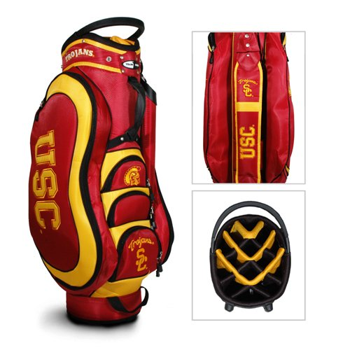 "USC Trojans NCAA Cart Bag - 14 way Medalist"" - TGO-27235 at Amazon.com"