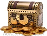 Pirate Treasure Chest Full of Gold (Chocolate Coins)!