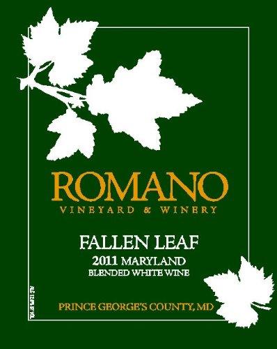 2011 Romano Vineyard & Winery Fallen Leaf White Blend 750 Ml