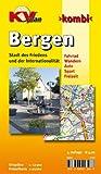 Bergen 1 : 12 500: Gemeindeplan mit Freizeitkarte 1 : 25 000  incl. Rad- und Wanderwegen