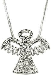 Beautiful Angel Charm Pendant Necklace