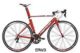 MERIDA(メリダ) 2015年モデル REACTO 400 サイズ:50cm カラー:ERW3(レッド/ホワイト) AMA040505-ERW3 アルミフレーム 前2×後ろ11段変速