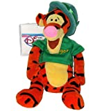 Tigger St Patricks Day - Disney Mini Bean Bag Plush