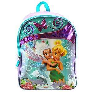 """Disney Fairies Tinkerbell Periwinkle 16"""" Large School Backpack from Disney"""