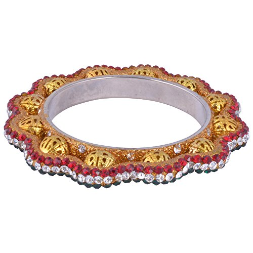Brass bangri bangle (yellow)