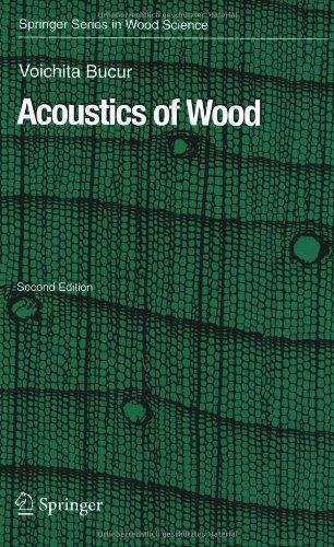 Acoustics Of Wood (Springer Series In Wood Science)