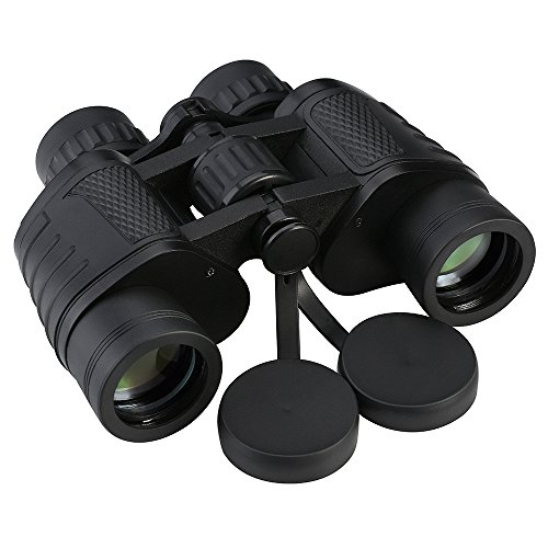 Patuoxun Binoculars with BAK4 Prism, 8X35mm, with Neck Strap and Bag, for Outdoor Activities, Stadium Sports, Bird-watching, Concerts, Hunting, Hiking