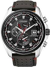 Comprar Citizen AT9036-08E - Reloj para hombres, correa de acero inoxidable color negro