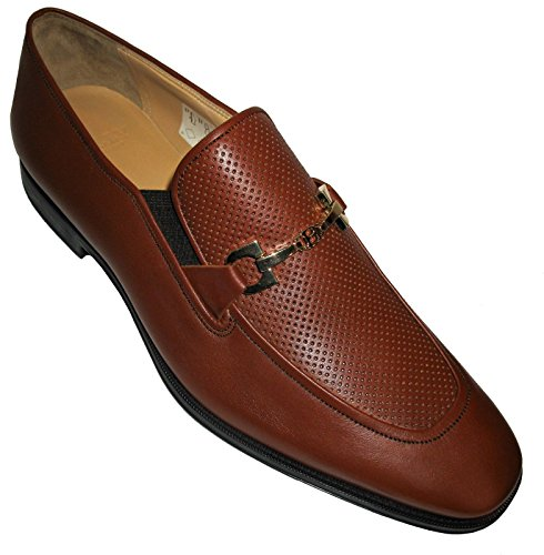 bally-tarcisio-mens-perforated-dress-loafer-whisky-calf-size-11-new-msrp-525